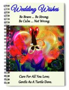 Brian Exton Love Light And Roses  Bigstock 164301632  231488 Spiral Notebook