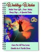 Brian Exton Orange Rose  Bigstock 164301632  2991949  12779828 Spiral Notebook