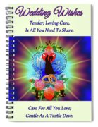 Brian Exton Peace Light And Love  Bigstock 164301632  12779828 Spiral Notebook