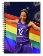 Briann January Lgbt Pride 2 Spiral Notebook