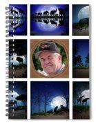 Brian's Collage 2 Spiral Notebook