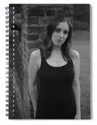 Brick And Field Spiral Notebook