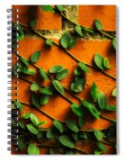 Brick And Leafs Spiral Notebook