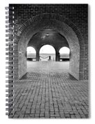 Brick Arch Spiral Notebook