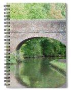 Brick Canal Bridge  Spiral Notebook