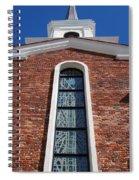 Brick Church Spiral Notebook