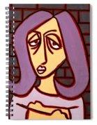 Brick Lady Spiral Notebook