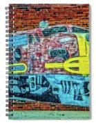 Brick Train Spiral Notebook
