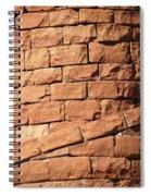 Bricks Spiraling Spiral Notebook
