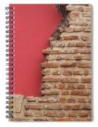 Bricks, Stones, Mortar And Walls - 3 Spiral Notebook