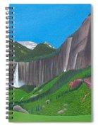 Bridal Veil And Ingram Falls Spiral Notebook