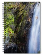 Bridal Veil  Falls 3 Spiral Notebook
