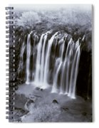 Bridal Veil Falls - Havasu Canyon Arizona C. 1900 Spiral Notebook