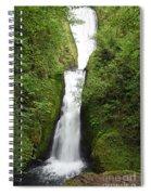 Bridal Veil Falls - Oregon Spiral Notebook