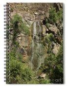 Bridal Veil Falls Spearfish Spiral Notebook