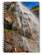 Bridal Veil Spiral Notebook