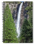 Bridalvail Fall And Raven Spiral Notebook