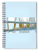 Bridge Abstract Spiral Notebook