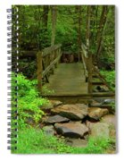 Bridge Across A River Is Part Of The Pa At Spiral Notebook