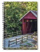 Bridge Across Time Spiral Notebook