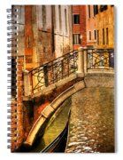 Bridge Ahead Spiral Notebook