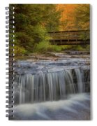 Bridge And Falls Spiral Notebook