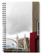Bridge And Pier Eight Spiral Notebook