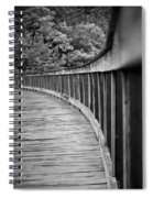 Bridge At Calloway II Spiral Notebook
