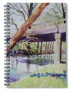 Bridge At Camp Verde Spiral Notebook