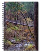 Bridge At Deer Creek Spiral Notebook