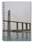 Bridge At Suez Spiral Notebook
