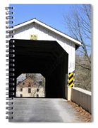Bridge At The Mill. Spiral Notebook