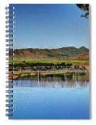 Bridge At Wolf Creek Spiral Notebook