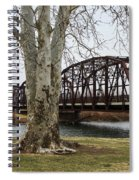 Bridge By The Tree Spiral Notebook