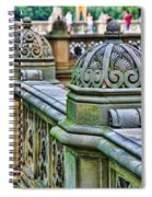 Bridge Detail 3 Spiral Notebook