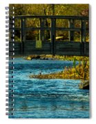 Bridge For Lovers Spiral Notebook