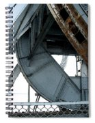 Bridge Gears Spiral Notebook