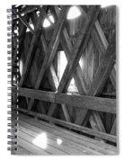 Bridge Glow Spiral Notebook