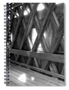Bridge Glow Spiral Notebook