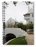 Bridge In Alys Beach Spiral Notebook