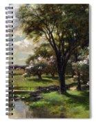 Bridge In Late Spring Spiral Notebook