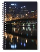 Bridge In The Heart Of Pittsburgh Spiral Notebook