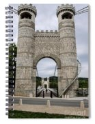 Bridge La Caille - Rhone-alpes Spiral Notebook