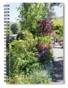 Bridge Of Flowers Walkway Spiral Notebook