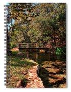 Bridge Of Harmony Spiral Notebook