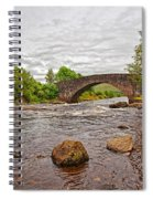 Bridge Of Orchy Argyll Bute Spiral Notebook