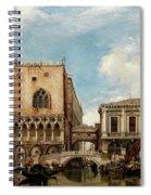 Bridge Of Sighs, Venice Spiral Notebook