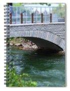 Bridge On The Niagara River Spiral Notebook