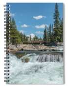 Bridge On The Pct Spiral Notebook