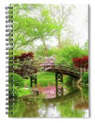 Bridge Over Calm Waters Spiral Notebook